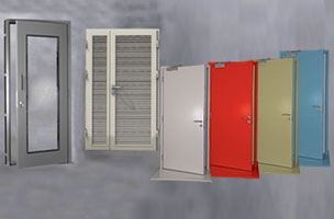 Image of Metal Doors & Frames